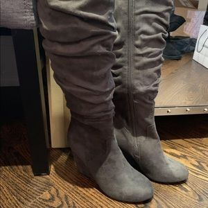 Call it Spring Suede Boots